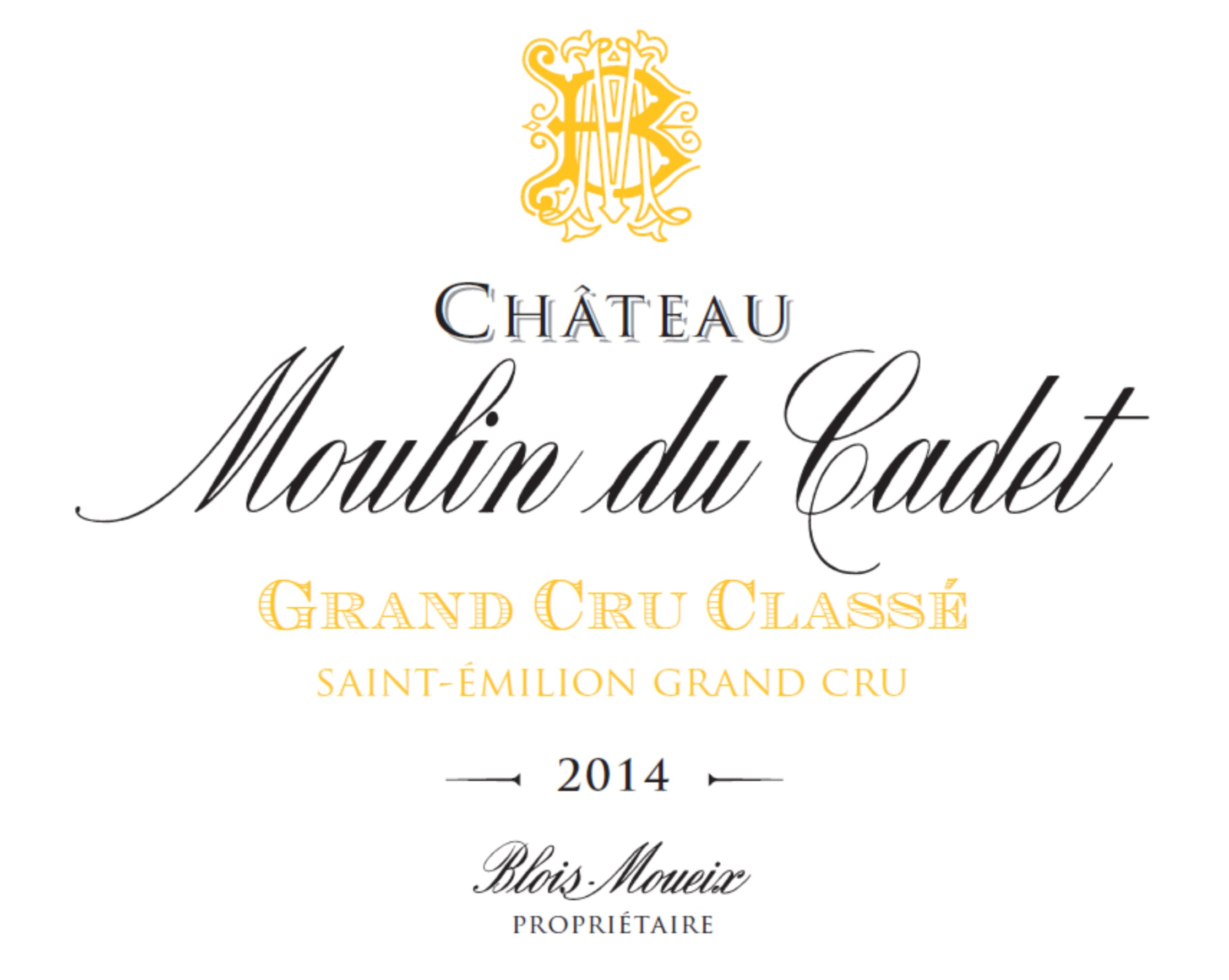 Chateau moulin du cadet 2018